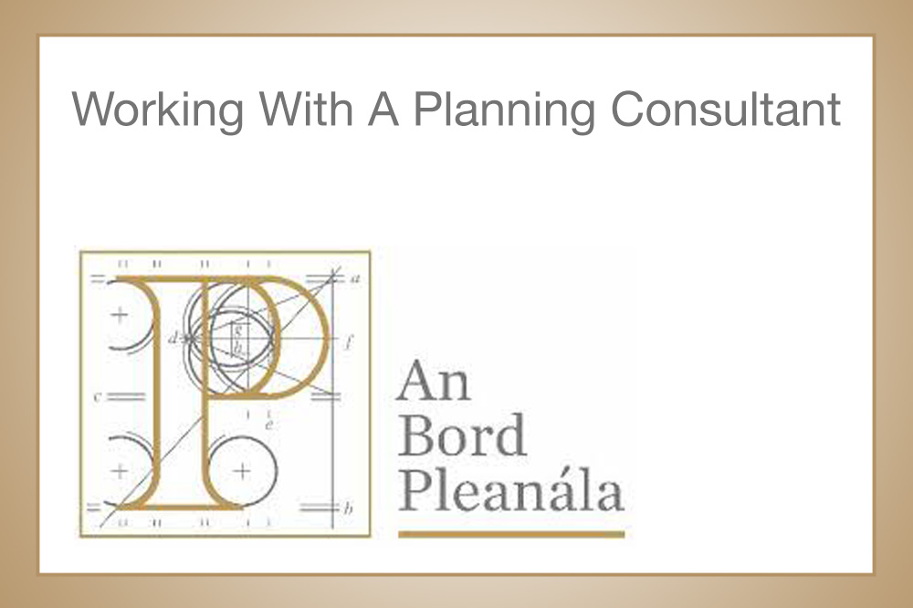 Working With A Planning Consultant